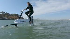 Radfahren auf dem Wasser mit Manta 5 (Herstellervideo)