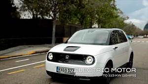 Honda E (Herstellervideo)