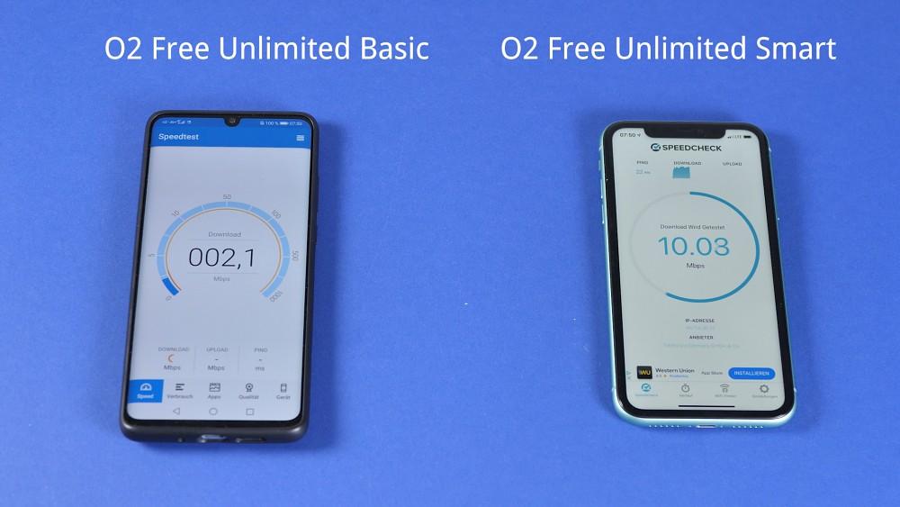 O2 Free Unlimited im Test