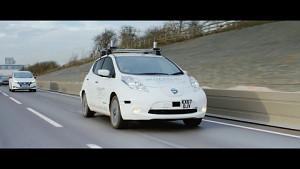 Nissan fährt autonom durch halb Großbritannien (Herstellervideo)