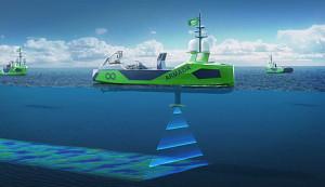 Autonome Schiffe sollen Ozeane kartografieren (Ocean Infinity)