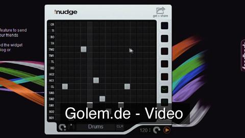 iNudge.net Onlinesynthesizer - Impressionen