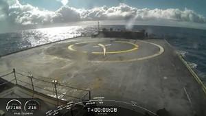 50. Versuch der Landung einer Falcon 9