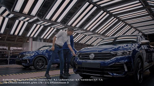 Produktion eines VW R (Herstellervideo)
