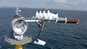 Makani Power testet seinen Flugdrachen auf See