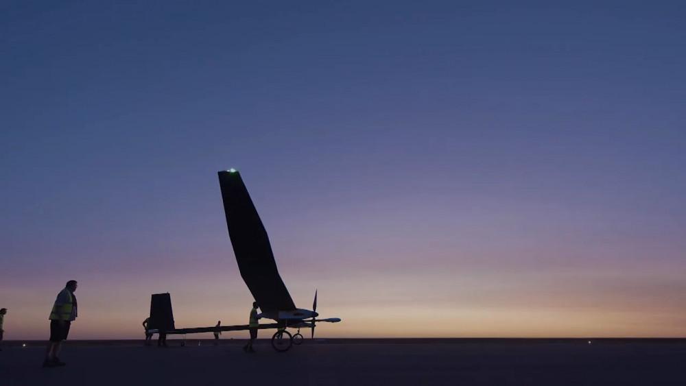 Erstflug der Solardrohne Phasa-35 - BAE Systems