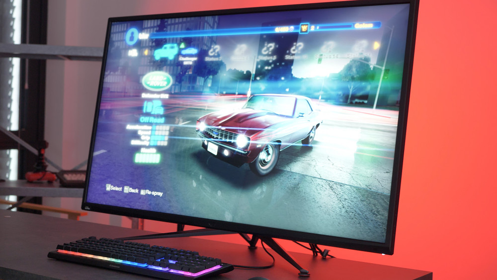 Asus-Gaming-Monitor mit 43 Zoll Diagonale (Test)