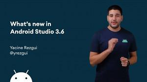Die neuen Funktionen von Android Studio 3.6 - Herstellervideo