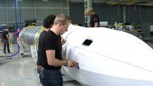 Astra-Rakete für Darpa Launch Challenge