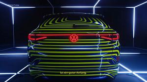 VW ID.4 - Teaser der Prototyp-Enthüllung