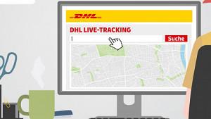 DHL plant Live-Tracking für Pakete - Herstellervideo