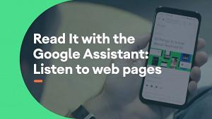 Google-Assistant-Vorlesefunktion - Herstellervideo
