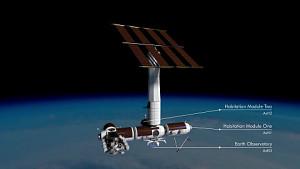Axiom zeigt eigene Raumstation (Animation)