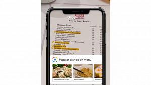 Google Lens sucht Gerichte auf Speisekarte - Teaser