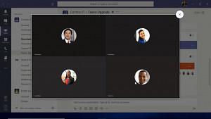 Microsoft Teams - Live-Demo mit Videokonferenz
