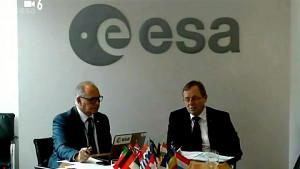 Esa Pressekonferenz zur Verschiebung des Exomars Rover