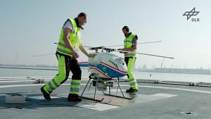 Unbemanntes Flugsystem auf See sicher landen (MaRPAS)