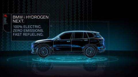 Brennstoffzellenantrieb von BMW