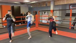 Kickboxen-Onlinekurs vom Karate-Team Bodensee