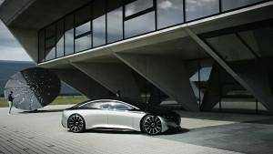 Konzeptfahrzeug Vision EQS von Mercedes-Benz - Trailer