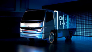 Fuso eCanter Vision F-Cell - Herstellervideo