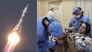 Expedition 63 - Start zur Internationalen Raumstation