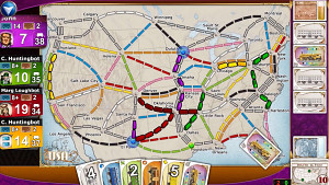 Ticket to Ride - Trailer (Zug um Zug)