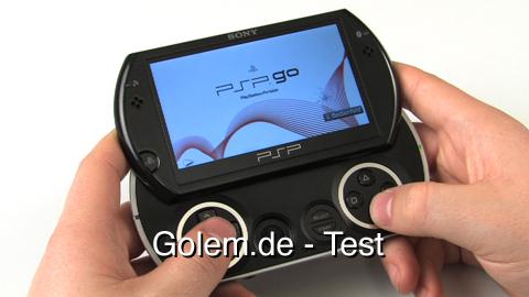 PSP Go - Test