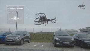 DLR erprobt autonomes Einparken mittels App und Drohne