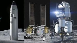NASA wählt Human Landing System aus