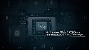 AMD zeigt Ryzen Pro Mobile 4000