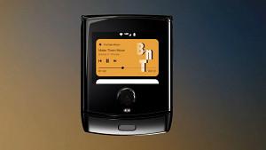 Android 10 auf dem Mororola Razr - Herstellervideo