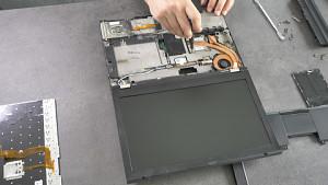 Das Thinkpad T430 in Einzelteile zerlegt
