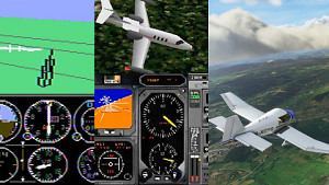 Die Evolution des Microsoft Flugsimulator (1982-2020)