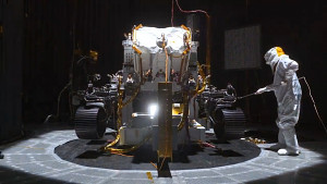 Tests des Mars-2020-Perseverance-Rover (Nasa)