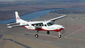 Erstflug der elektrifizierten Cessna - MagniX