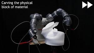 Schnitt statt Druck: RoboCut erstellt 3D-Hasen mit heißem Draht (Siggraph 2020)
