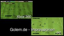 Fifa 10 - Impressionen der Konsolen- und PC-Version