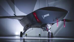 Prototyp der Drohne Loyal Wingman - Boeing