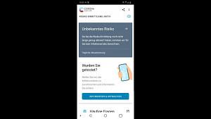 Corona-Warn-App Installation und Überblick (kein Ton)