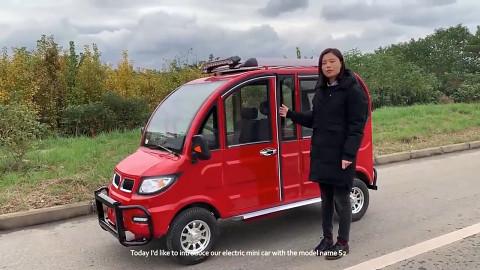 E-Auto für unter 1000 Euro aus China - Minghong SEV 2 (Herstellervideo)