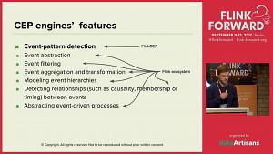 Complex Event Processing mit Flink (englisch)