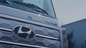 Brennstoffzellen-Lkw Xcient Fuel Cell - Hyundai