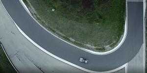 Audi E-Tron S Sportback driftet