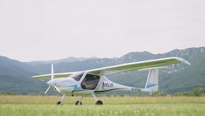 Elektrischer Rekordflug von den Alpen an die Nordsee