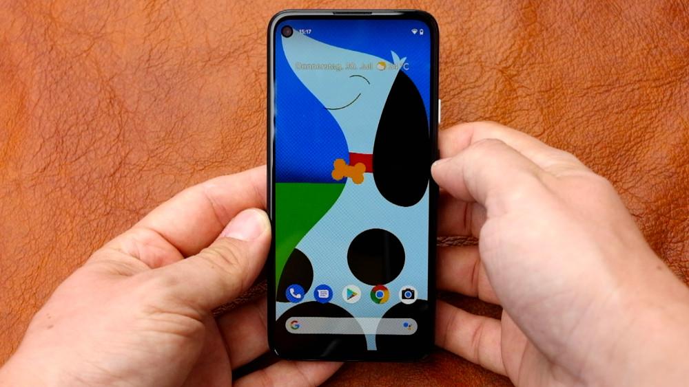 Google Pixel 4a - Test