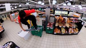 GoPro: Supermarket Skate (Herstellervideo)
