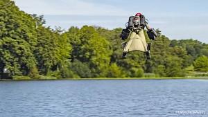 Jetsuit-Flugtest (Herstellervideo)
