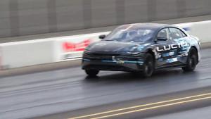 Beschleunigungsrennen Lucid Air gegen Tesla Model S