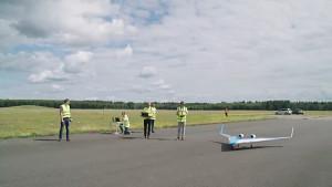 Erstflug des Flying V - KLM
